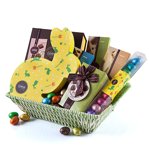 Corné Port-Royal Chocolate basket Easter eggs