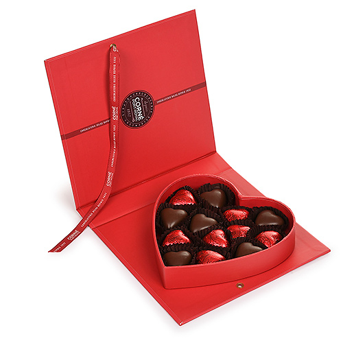Corné Port Royal Valentine 2021 : Boite Livre Coeur, 200 g