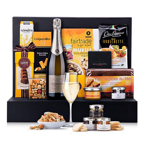 Boîte Cadeau Champagne Lenoble Brunch de Fête