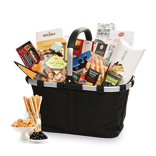 Luxury Gourmet Reisenthel Carry Bag Black