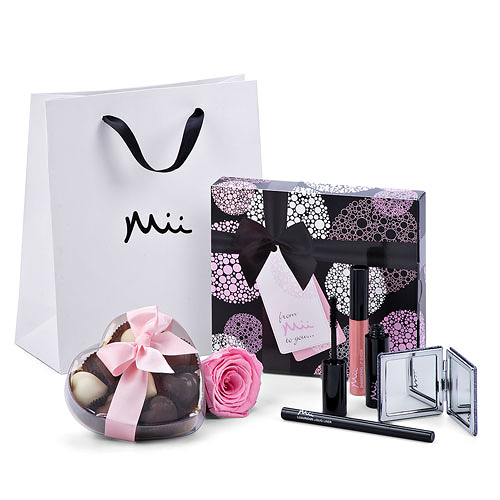 Mii Luxurious Make Up Set with Godiva & Rose
