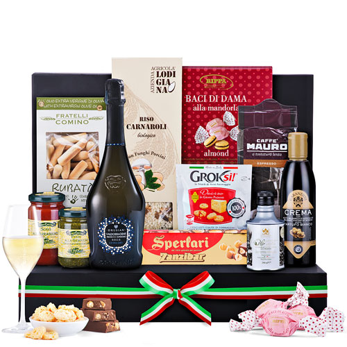 Italian Luxury Gourmet Gift with Prosecco
