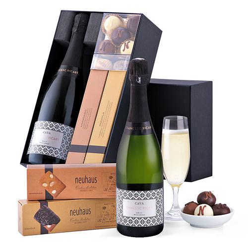 Francesc Ricart Cava & Neuhaus Chocolates