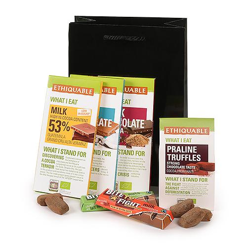 Trias Fair Trade Chocolate Lover Gift Basket