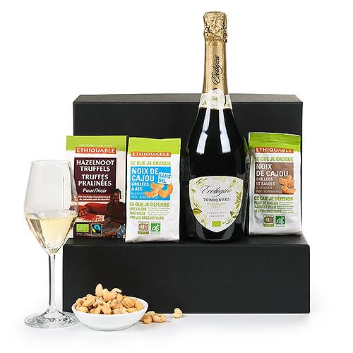 Trias Fair Trade Sparkling Wine Gift Box