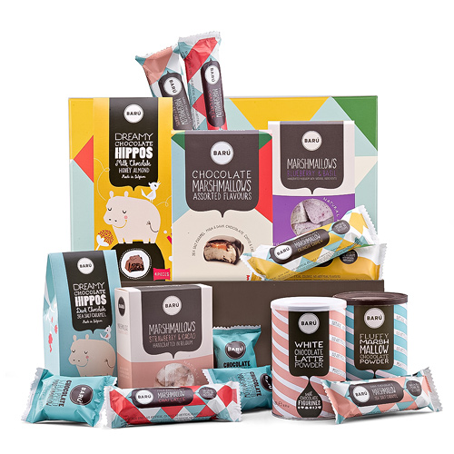 Barú Classic Chocolate Marshmallow Gift Box