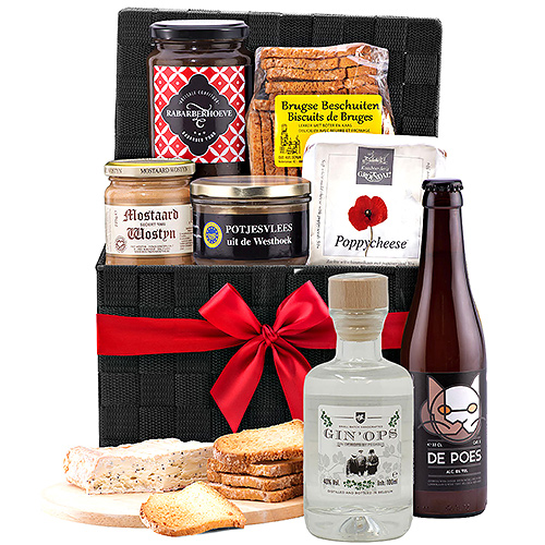100% Belgian Appetizer with Beer & Flor Herbal G.I.N.