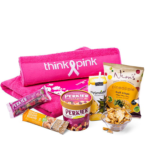 Think-Pink Healthy Snacks