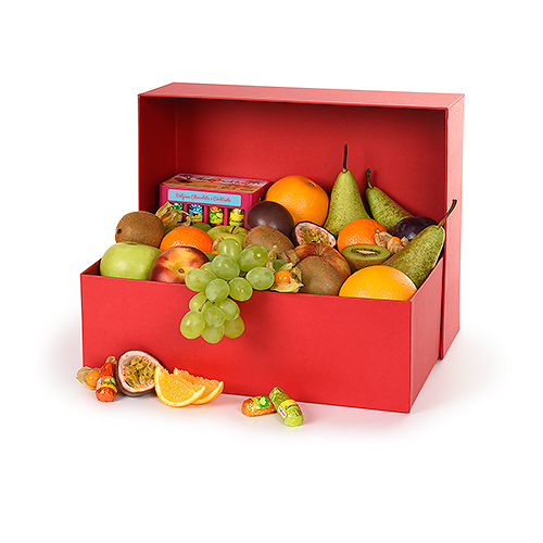Cheerful Fruit & Chocolate Hamper