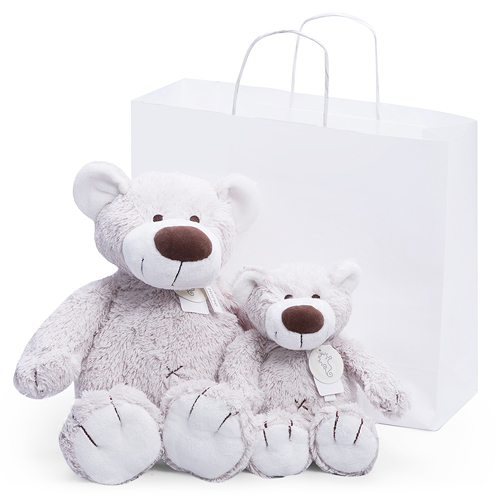 Baggio Teddy Bear Duo