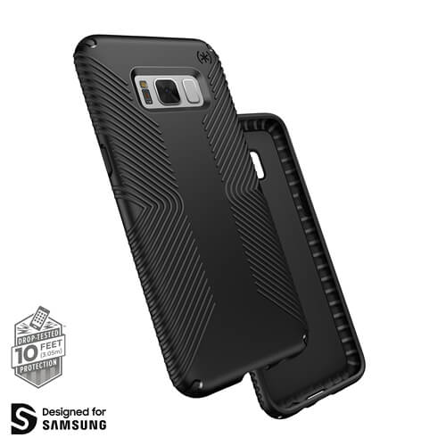 Samsung S8 Presidio Grip Black
