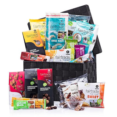 Panier Cadeau de Bonbons Fair Trade de Oxfam
