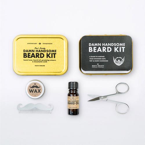 Men's Society Kit de Soins pour la Barbe Parfaite