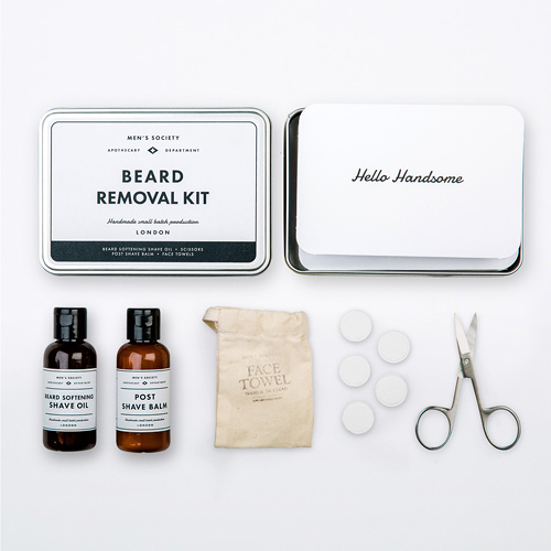 Men's Beard Removal Shave Kit