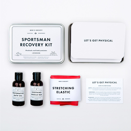 Men's Society Sportsman Recovery Kit