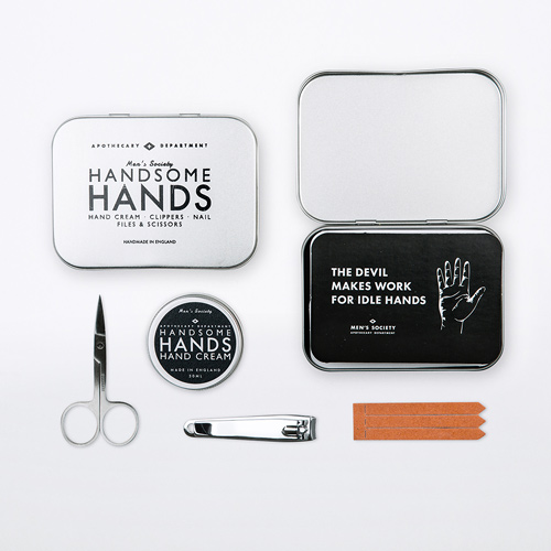 Men's Society Handsome Hands Kit de Manicure