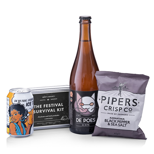 The Festival Kit with De Poes Beer
