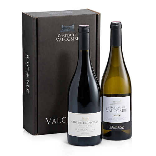 Château de Valcombe Red & White Wine Duo