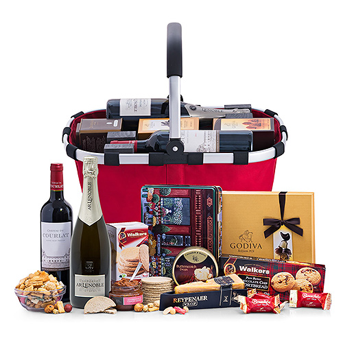 Royal Carry Bag Red Wine & Lenoble Champagne