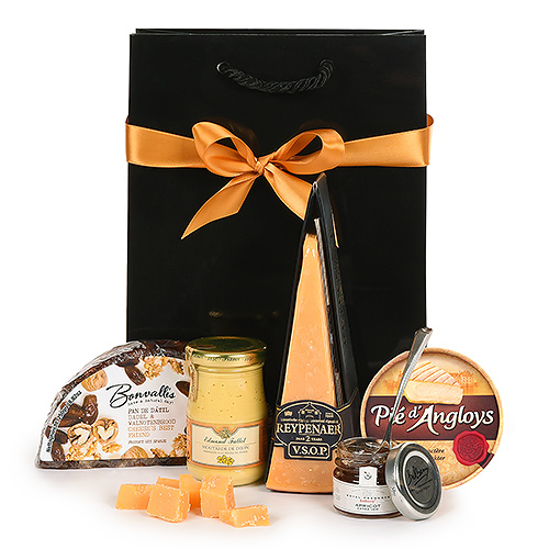 Holiday Cheese & Co. Gift Box