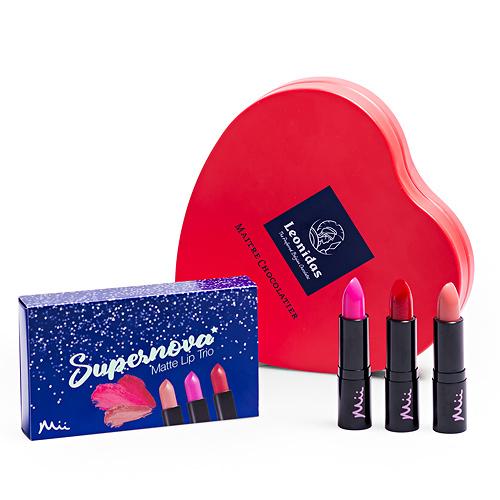 Rouge à Lèvres Mii & Chocolats Leonidas