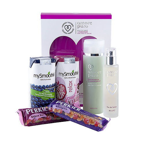 Amore Puro Gift Set & Healthy Snacks