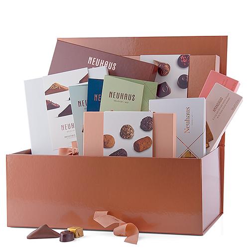 Neuhaus Panier Cadeau Ultime au Chocolat