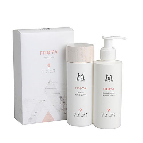 Mylène Frøya Gift Box Body Oil & Shower Gel