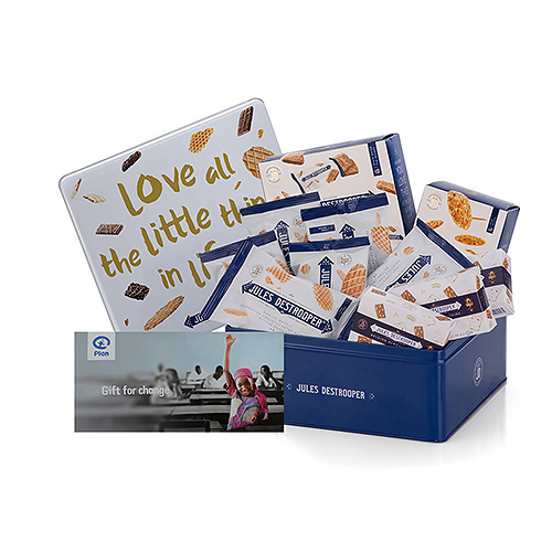 Plan International Belgium Office Treats & Gift Card 'All Girls to School!'