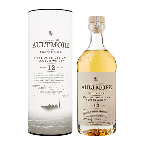 Bacardi : Aultmore Single Malt 12 Years Old, 70 cl