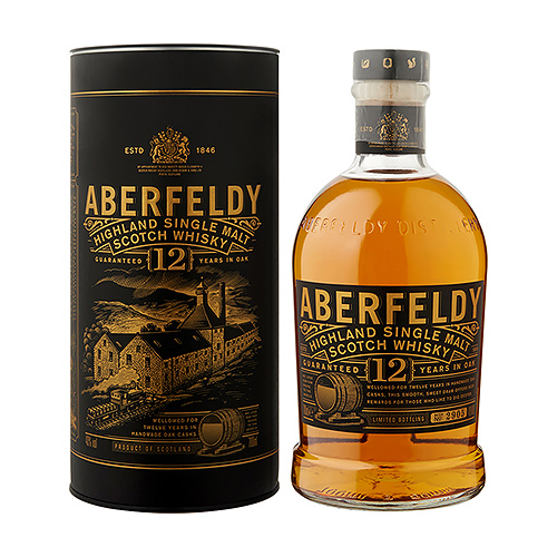 Bacardi : Aberfeldy 12 Years Old, 70 cl
