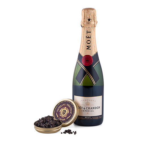Imperial Heritage Caviar & Moet & Chandon