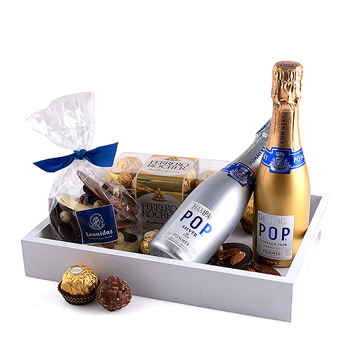 Champagne & Chocolates Tray for Two