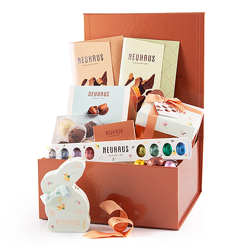 Coffret Cadeau Bronze Neuhaus Chocolat Pâques