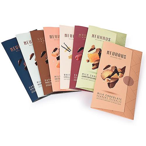 Neuhaus Éventail de Tablettes de Chocolat