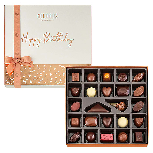 Neuhaus Happy Birthday Discovery Box, 25 pcs