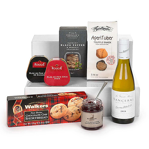 Foie Gras, Toast & Vin Sancerre
