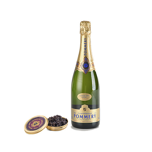 Pommery Brut Royal Champagne & Imperial Caviar