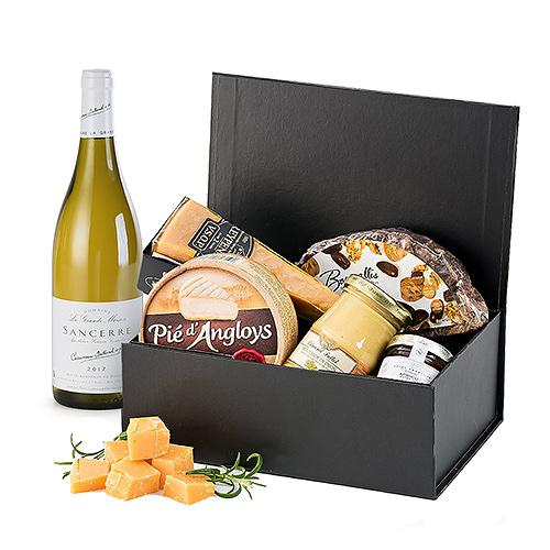 Coffret-Cadeau Fromages & Vin Blanc Sancerre