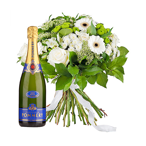 Simplement Blanc & Pommery Champagne