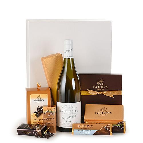 Gift 2019 : Godiva Chocolates & Sancerre Blanc