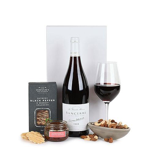 Gift 2019 : Sancerre Rouge & Snacks