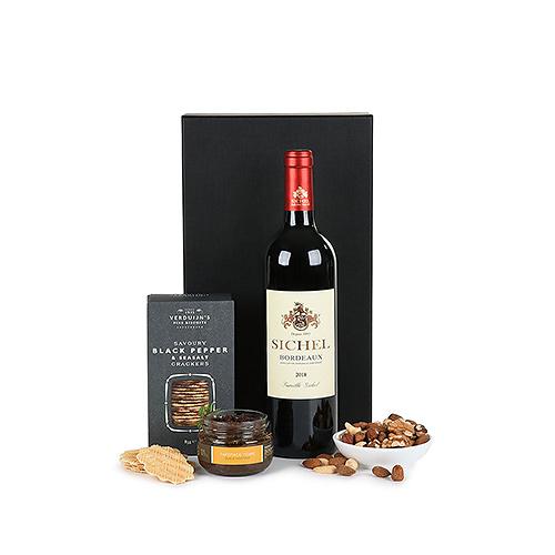 Sichel Bordeaux Red Wine & Snacks