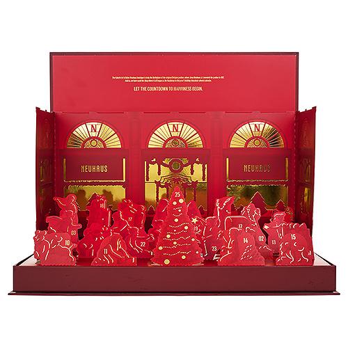 Neuhaus Christmas 2019 : Advent Calendar 2019 Pop-Up Deluxe, 331 g