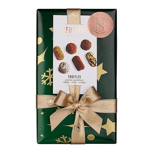Neuhaus Christmas 2019 : Ballotin Truffles Green, 410 g