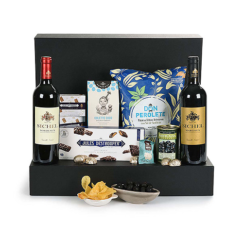 Ultimate Gourmet Giftbox : Red & White Wine Edition