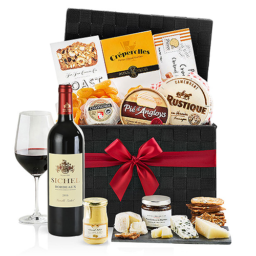 Gifts 2019 : Wine, Cheese & Crackers