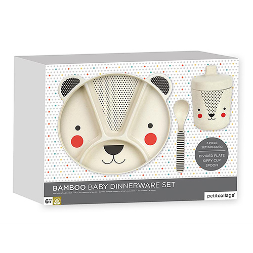 Gifts 2019 : Bamboo Bear Dinnerware