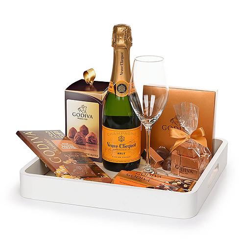 Gifts 2020 : Godiva & Veuve Cliquot