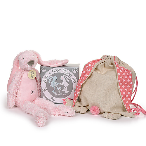 Rabbit Cuddle & Hand-Foot Print Kit